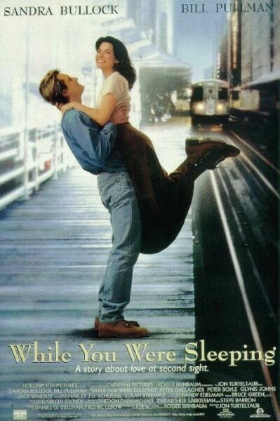 while you were sleeping one sheet movie poster bill pullman independance day sandra bullock ms congeniality rare poster promo