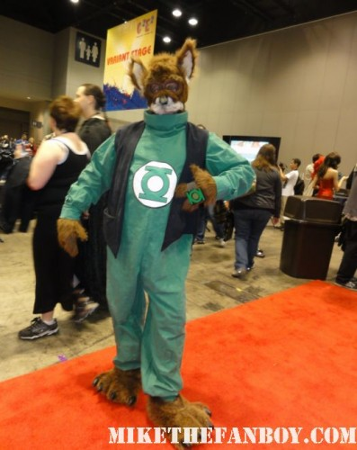 Chicago Comic and Entertainment Expo…aka C2E2 chip costume green lantern rare costume character chicago comic con san diego 2011 rare