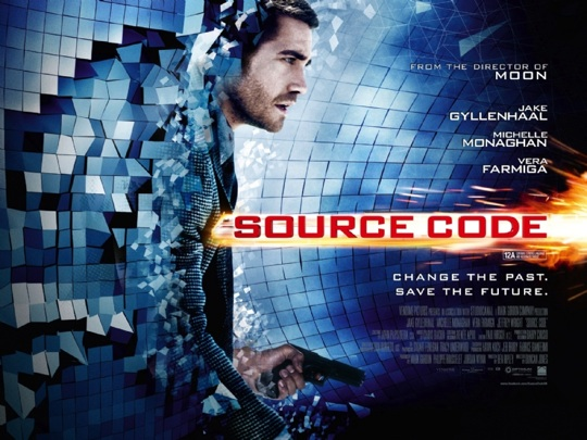 jake gyllenhall uk source code sexy hot one sheet movie poster rare atari vera farmiga promo rare beard michelle monaghan