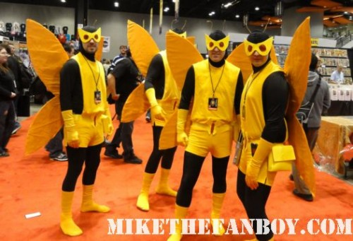 Chicago Comic and Entertainment Expo…aka C2E2 minions of the Monarch from the Venture Brothers costume characters chicago comic con rare 2011 san diego rare promo