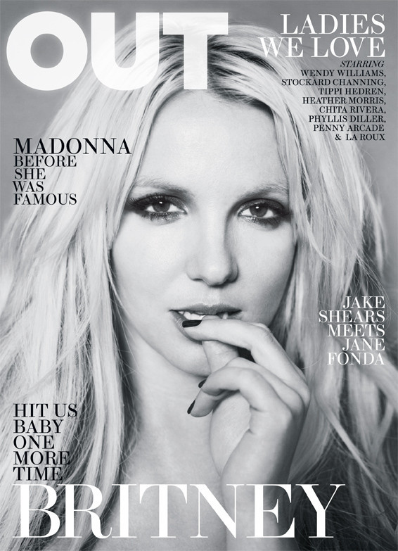 britney spears out magazine cover sexy hot femme fatale Till The End of the World promo Circus Blackout