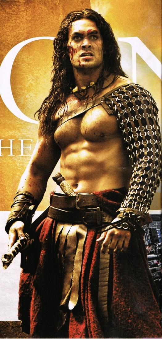 Jason momoa stargate shirtless sexy hot conan the barbarian empire 2011 rare rose mcgowan stephen lang