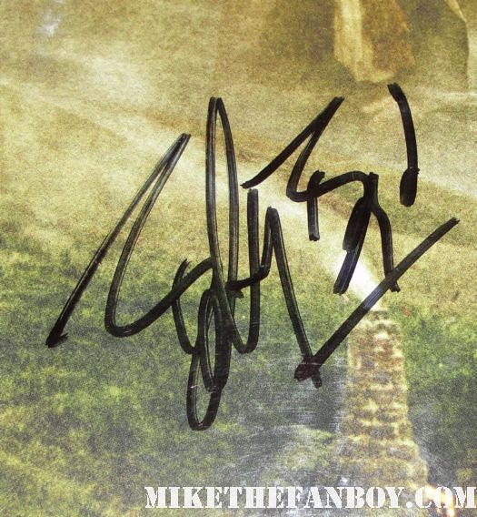 lord of the rings signed autograph trilogy poster billy boyd viggo mortensen dominik monaghan hugo weaving rare sexy hobbit elf liv tyler