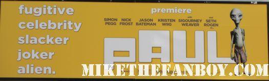 paul premiere nick frost simon pegg sean of the dead rare comic con rare signed autograph rare hot fuzz fuss dvd jason bateman