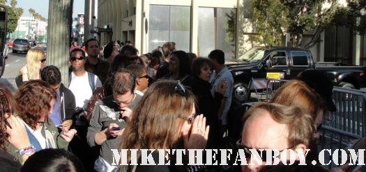 Jake Gyllenhaal signed autograph world premiere source code duncan jones red carpet rare fans waiting signed