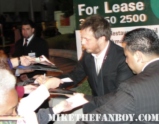 duncan jones signed autograph moon source code premiere rare mini poster rare Jake Gyllenhaal