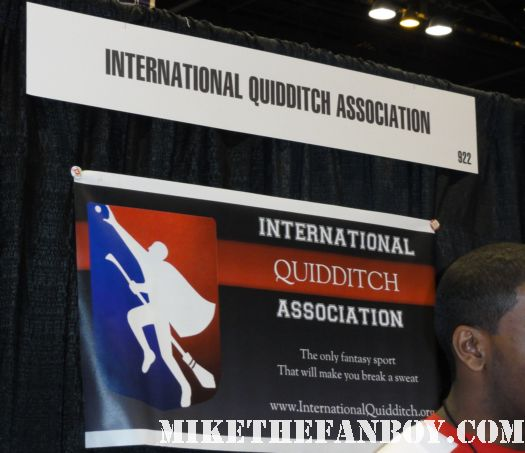 Chicago Comic and Entertainment Expo...aka C2E2 international quiddich association harry potter hermine day 1 rare