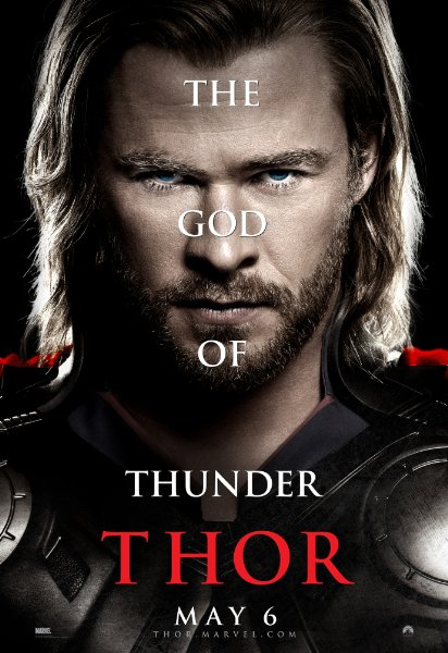 chris hemsworth thor individual movie poster rare hot sexy muscle hammer individual poster rare promo marvel avengers