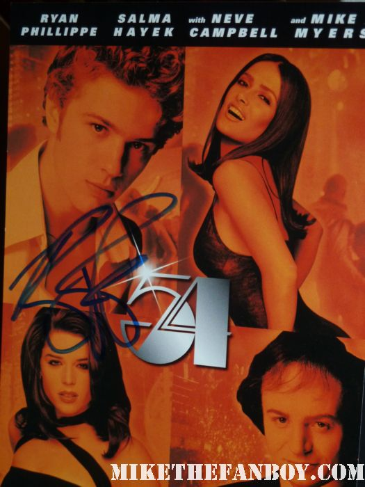 ryan phillippe signed autograph 54 dvd cruel intentions gosford park lincoln lawyer shirtless sexy hot sweat