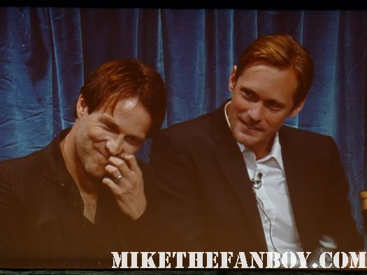 Stephen Moyer Aledander Skarsgard eric true blood paleyfest 2011 panel sexy hot rare