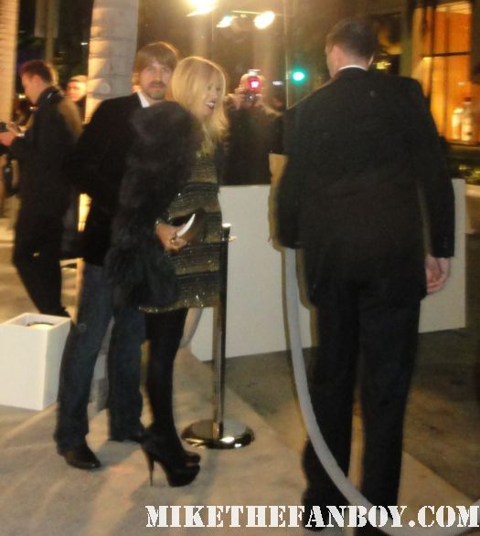 Rachel Zoë tom ford store opening signed autograph sexy hot pregnant