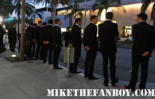Alexander Skarsgard colin firth super hot valet boys tom ford opening store beverly hills ca rare oscar hot sexy