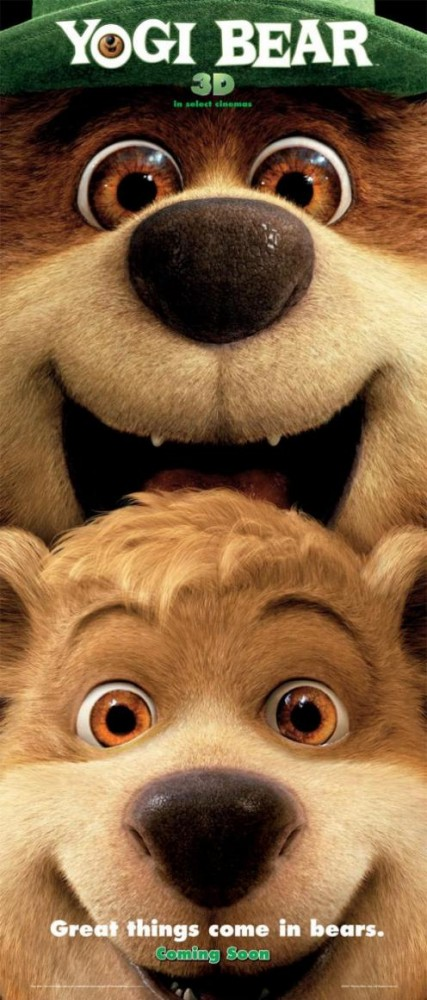 yogi bear gay movie poster justin timberlake hairy bears boo boo dan aykroyd movie poster jellystone