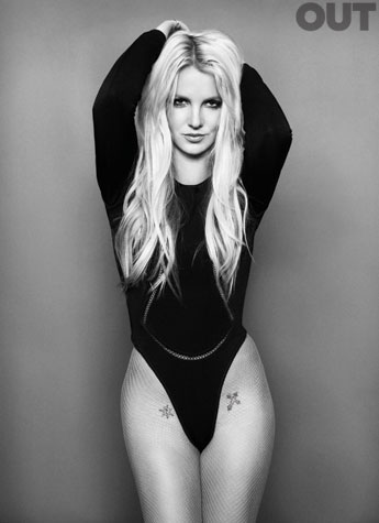 britney spears out magazine photo shoot photoshoot sexy hot thong black and white racy high res femme fatale promo till the end of the world hot thong