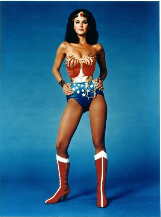Lynda Carter wonder woman 1975 rare promo photo television series rare hot sexy tiara costume boots