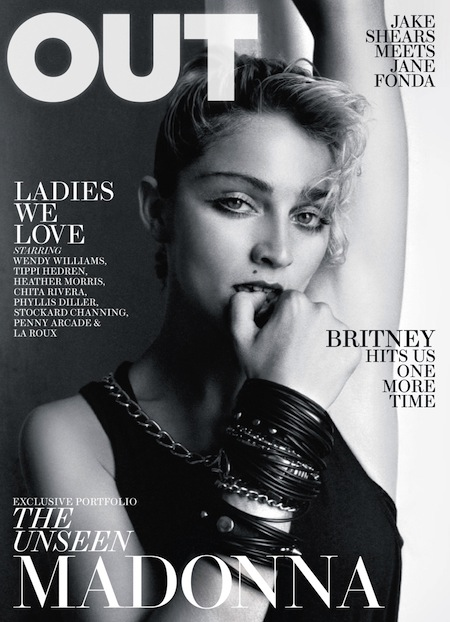 madonna out magazine april 2011 cover richard corman cover vintage borderline rare sexy hot into the groove style