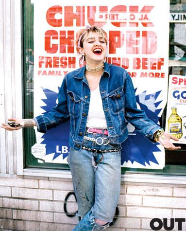 madonna richard corman vintage 1980s out magazine 2011 april photo shoot sexy hot rare dancer vintage confessions