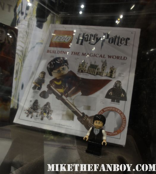 Harry Potter Lego figure that comes embedded in the DK Building the World of Harry Potter yule ball harry potter figure lego minimate rare signed autograph c2e2 chicago comic con