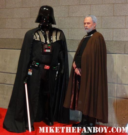 darth vader jedi costume c2e2 2011 san diego rare wookie chicago comic con rare promo hot