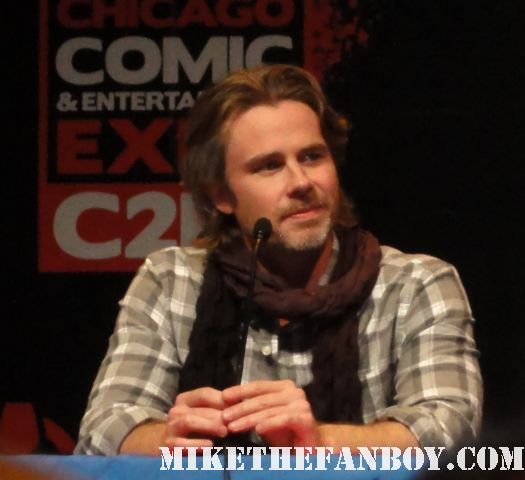 Sam Trammell ...  Sam Merlotte true blood c2e2 comic con rare signed autograph panel convention season 4 sookie