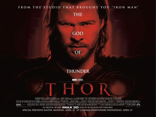 thor UK quad mini movie poster natalie portman rare signed autograph chris hemsworth anthony hopkins tom hiddleston kat dennings hot sexy nordic god fine sex damn