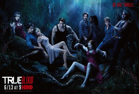 true blood season 4 season 3 promo cast poster something wicked rare kristin bauer