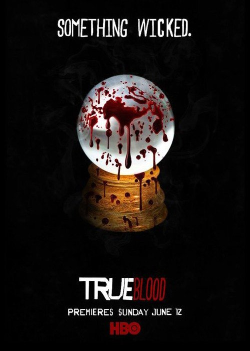 true blood season 4 rare promo poster something wicked blood sam trammell rutina wesley cast signed autograph rare