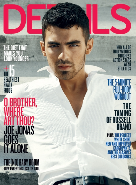 joe jonas sexy hot details magazine cover jonas brothers sexy rare shirtless steamy smoldering