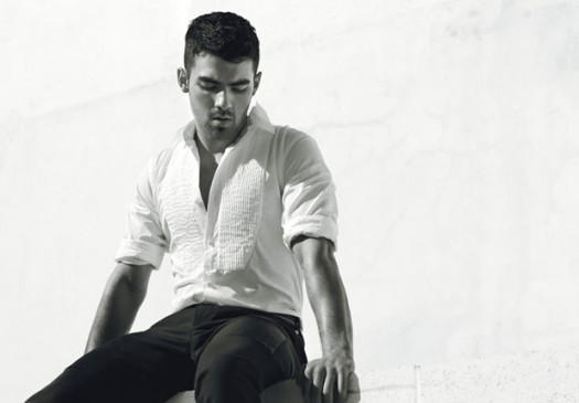 joe jonas hot sexy smoldering details magazine white shirt rare april 2011 jonas brothers singer pants rare smoldering