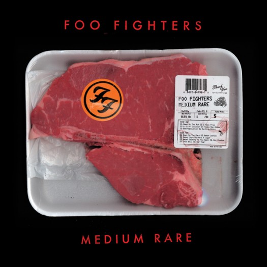 "foo fighters limited edition medium rare 7"" seven inch vinyl single meat promo record store day"