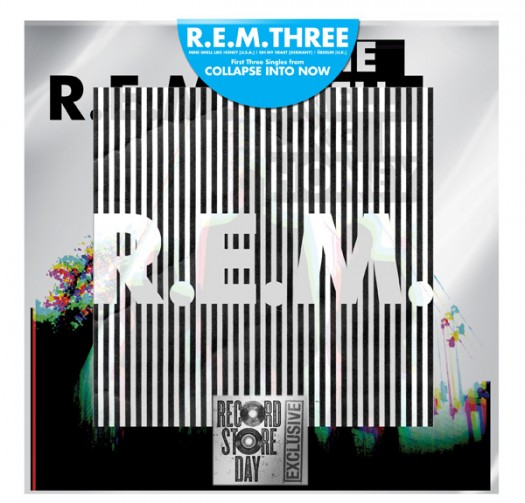 R.e.m. rem collapse into now first three singles record store day limited edition vinyl taste like honey