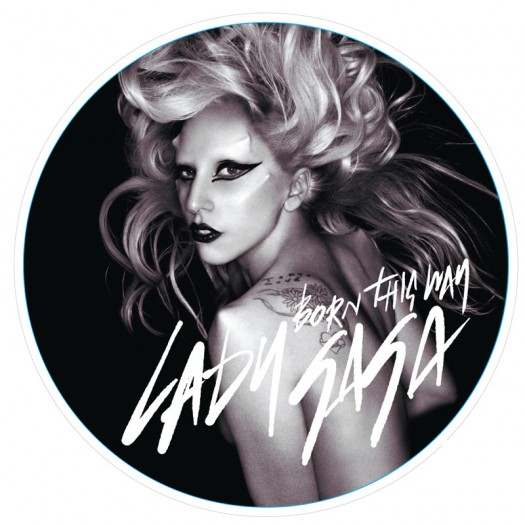 lady gaga twelve inch picture disc born this way rare record store day limited edition hot sexy 12""