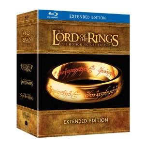 the lord of the rings extended edition on blu ray rare package fellowship of the ring rare hot