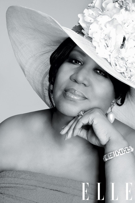 aretha franklin elle magazine women in music may 2011 music issue rare classic respect new 2011 photo health