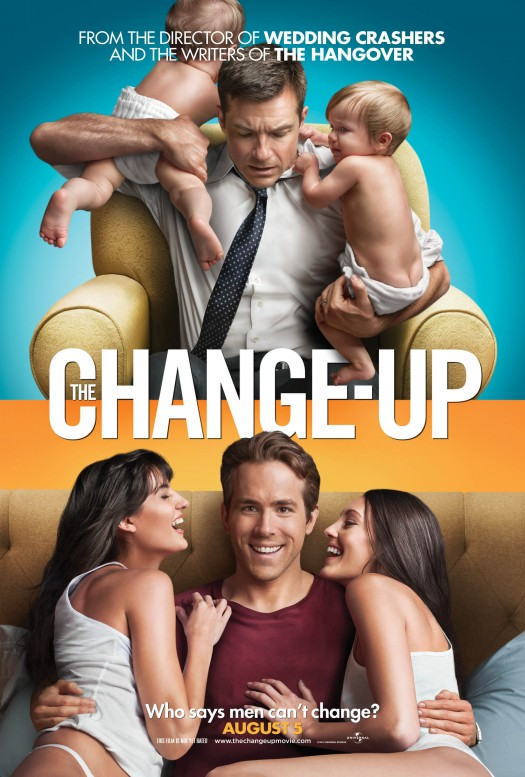 the change up rare teaser one sheet poster ryan reynolds jason bateman teaser poster rare one sheet hot sexy green lantern david hogan hogan family