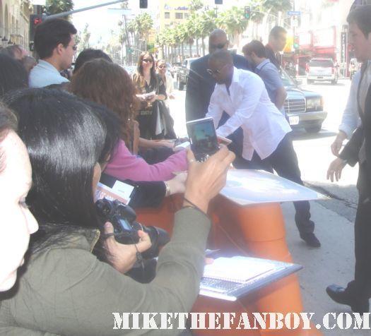 Jamie Foxx signed autograph valentine's day rio ray miami vice signed autograph sexy hot rare