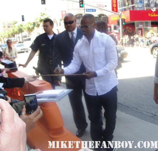 Jamie Foxx signed autograph sexy hot rare valentine's day ray rio miami vice promo poster mini