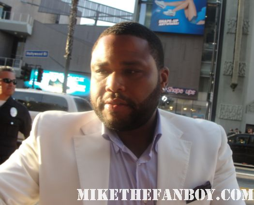 anthony anderson deputy perkins scream 4 rare signed autograph world premiere los angeles cinese theatre