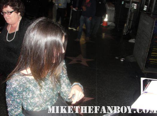 Shenae Grimes 90210 trudie signed autograph hot sexy scream 4 world premiere rare hot poster