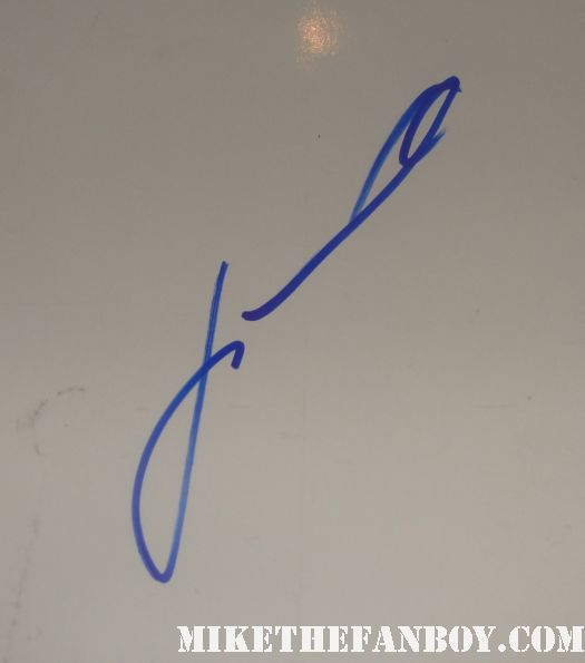 john travolta signed autograph promo poster rare grease is the world hot promo signature scientology