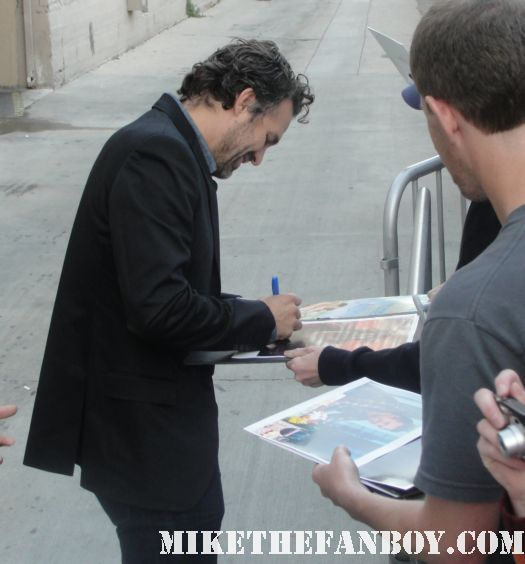 mark ruffalo signed autograph 13 going on 30 mini poster rare a view from the top the avengers joss whendon hulk just like heaven sexy hot