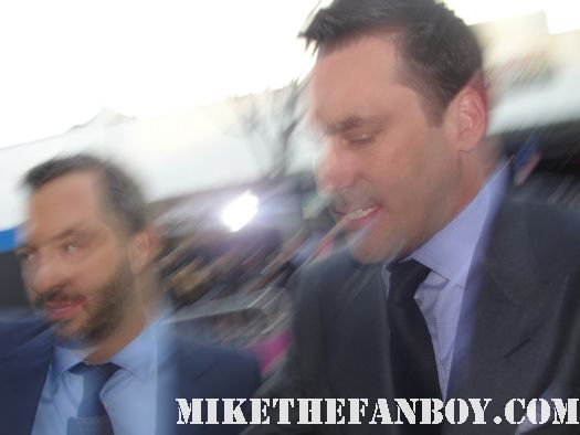 jon hamm mad men hot sexy judd apatow knocked up arriving at the bridesmaids world premiere 40 year old virgin