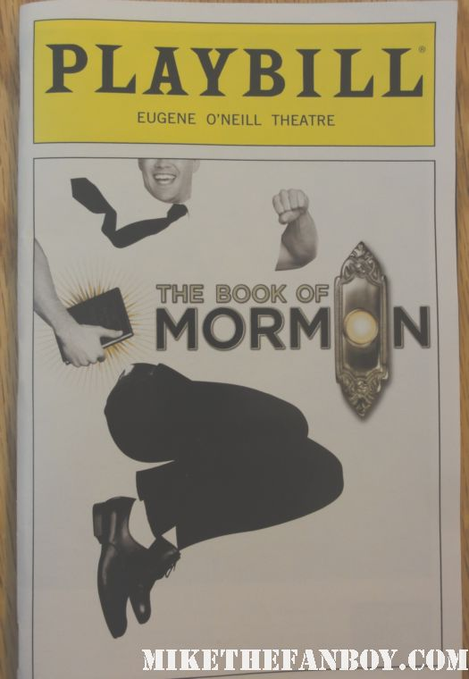 south park the book of mormon playbill broadway trey stone matt parker south park avenue q killed kenny