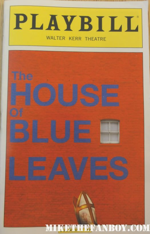 the house of blue leaves broadway playbill ben stiller edie falco nurse jackie oz dodgeball jennifer jason leigh weeds john guare tropic thunder