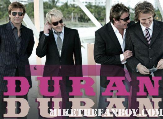 duran duran band the reflex union of the snake signed autograph promo rare header pinky simon le bon rare
