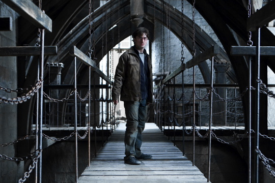 Harry Potter and the Deathly Hallows Part II press still daniel radcliffe emma watson rupert grint rare hot promo rare