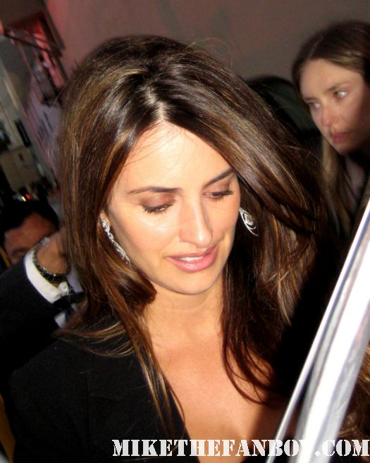 penelope cruz pirates of the caribbean on stranger tides nine vanilla sky signed autograph sexy hot rare spanish siren damn fine