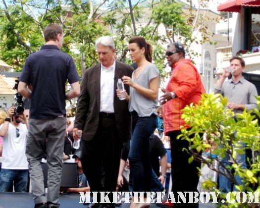 Mark Harmon Pauley Perrette Michael Weatherly NCIS Cast signed autograph rare photo promo hot rare st elsewhere