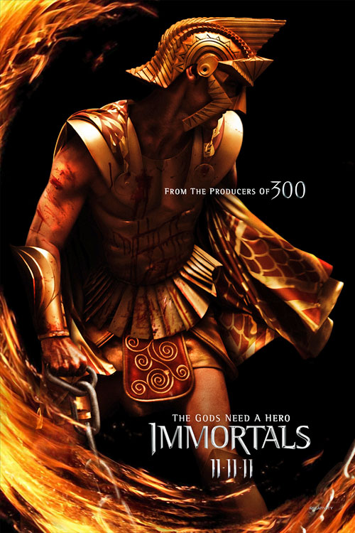 Henry Cavill rare superman zack snyder the immortals rare one sheet movie poster kellan lutz movie poster rare promo