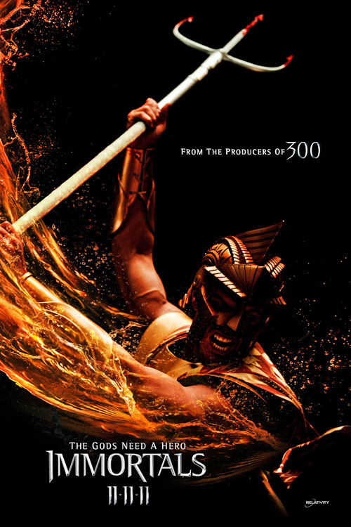 Henry Cavill rare promo the immortals one sheet movie poster individual kellan lutz superman hot sexy zack snyder rare shirtless